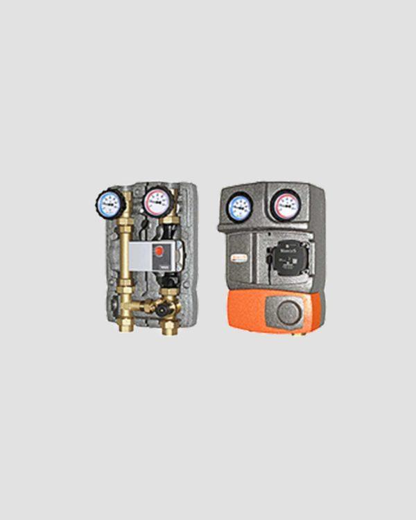 M2 Mix3-DN25 - Μονάδα Κυκλοφορητή με τρίοδη βάνα